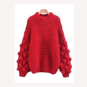 'Clora' Pom Pom Sweater